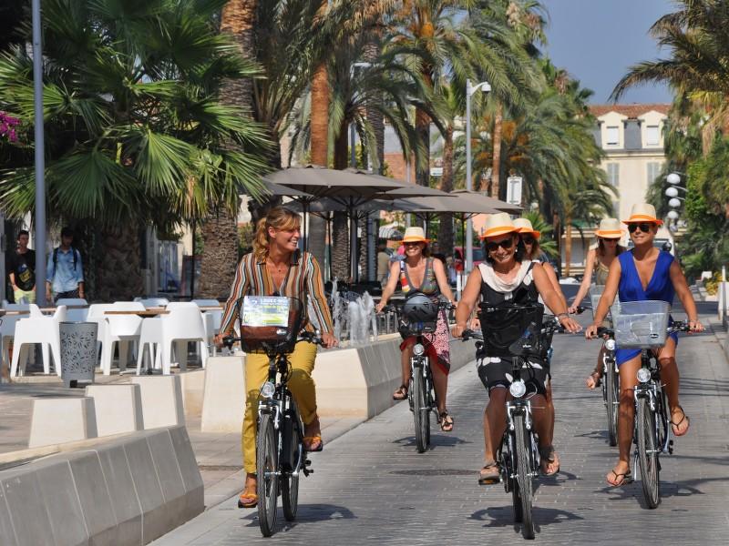 Cycle routes of the Metropolis Toulon Provence Mediterranee
