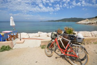 A day on Porquerolles (bike + restaurant + crossing boat)