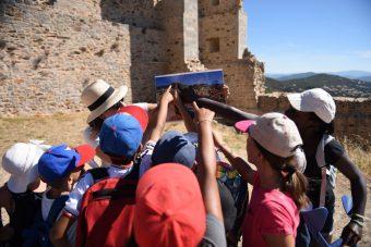 Investigation at hyeres' castle (for children)
